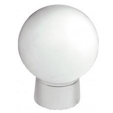 Светильник НББ 61-60-012 белый рассеиватель, шар, пластик, прямой, УХЛ4